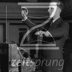 ZS101: Leon Theremin – Was die Anfänge der elektronischen Musik mit Überwachungstechniken zu tun haben
